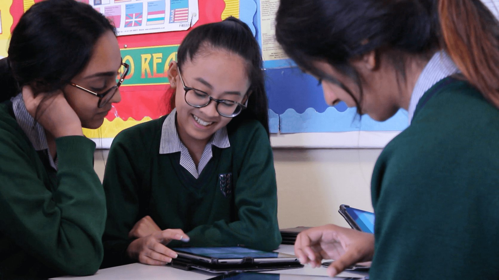 Motivated EAL learners using FlashAcademy
